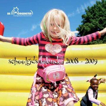 schoolgids/kalender 2008 - 2009 - Onderwijs Consumenten ...