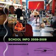 School info 2008-2009