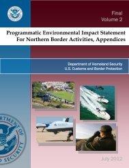 Appendix A - Public Involvement - CBP.gov