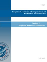 Ch. 2 Proposed Action and Alternatives - CBP.gov