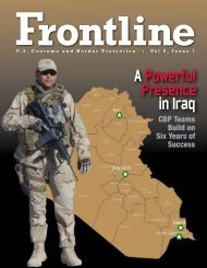 Vol. 5, Issue 1 - CBP.gov
