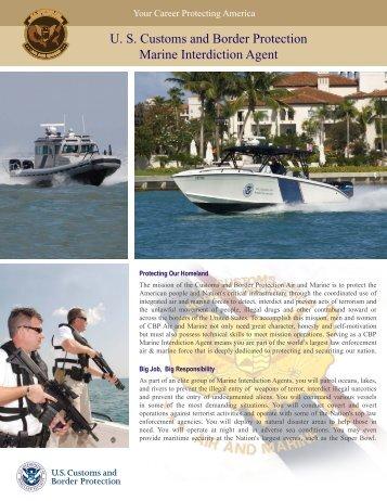 u s customs and border protection marine interdiction cbpgov