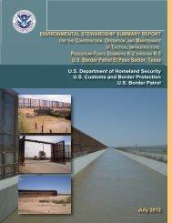 El Paso PF225 ESSR - CBP.gov