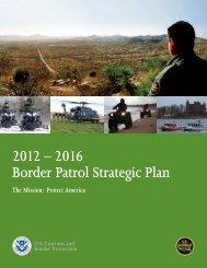 Border Patrol Strategic Plan 2012 – 2016 - CBP.gov
