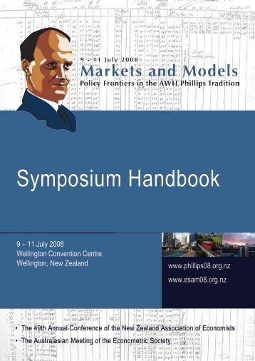 Symposium Handbook - NZAE : New Zealand Association of ...