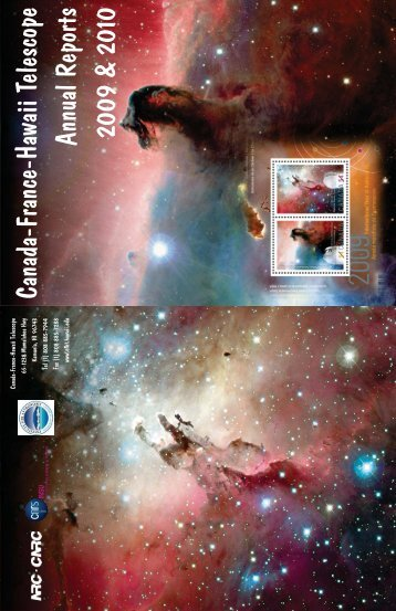 Booklet ready version - Canada France Hawaii Telescope ...