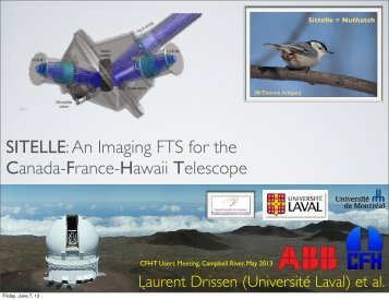 To View - Canada France Hawaii Telescope