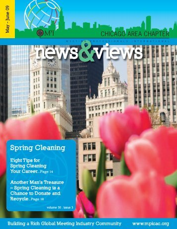 Spring Cleaning - Meeting Professionals International Chicago Area ...