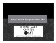 MPI-CAC - Meeting Professionals International Chicago Area Chapter