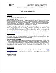 request for proposal - Meeting Professionals International Chicago ...