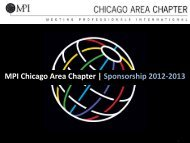 2012-2013 Sponsorship Prospectus - Meeting Professionals ...