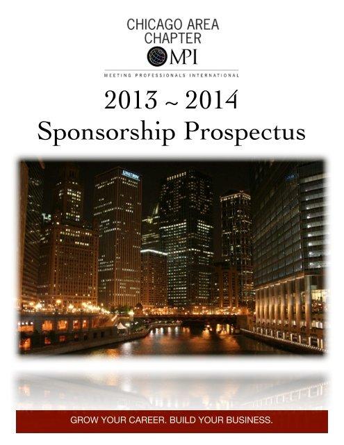 2013-2014 Sponsorship Prospectus - Meeting Professionals ...