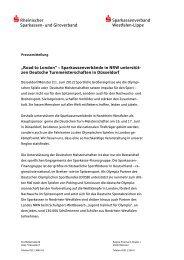 Rheinischer Sparkassen- und Giroverband - Westfälisch-Lippische ...