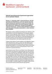  Westfälisch-Lippischer Sparkassen- und Giroverband