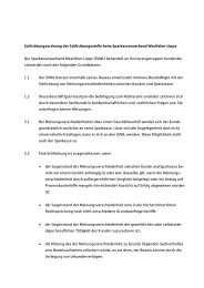 Schlichtungsordnung - Sparkassenverband Westfalen-Lippe