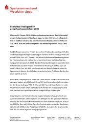  Sparkassenverband Westfalen-Lippe - Westfälisch-Lippische ...