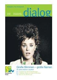 dialog 4 2011 Ausgabe Aalen - Stadtwerke Aalen