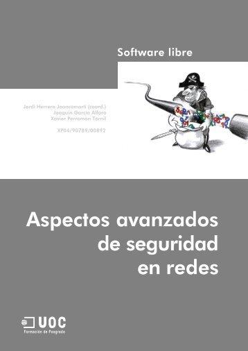 Aspectos avanzados de seguridad en Redes.pdf - SW Computación
