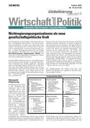 NGOs aus der Sicht eines Global Players - Sw-cremer.de