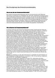 Das Grundprinzip des Emissionsrechtehandels - Sw-cremer.de