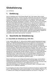 Globalisierung - Sw-cremer.de