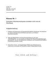 Klausur Nr. 1 Viel Glück und Erfolg!! - Sw-cremer.de
