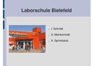 Laborschule Bielefeld - Sw-cremer.de