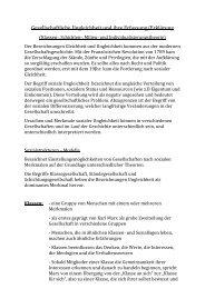 Gesellschaftliche Ungleichheit und ihre Erfassung ... - Sw-cremer.de