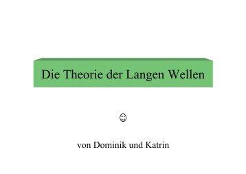 Die Theorie der Langen Wellen - Sw-cremer.de