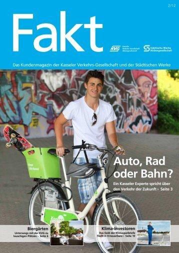Fakt 02/2012 - Städtische Werke AG