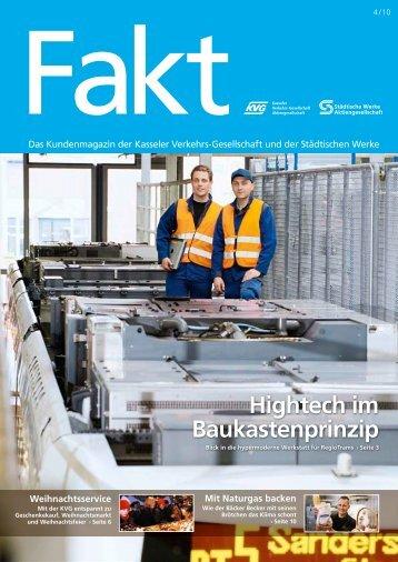 Fakt 04/2010 - Städtische Werke AG