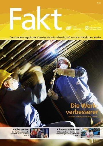 Fakt 03/2010 - Städtische Werke AG