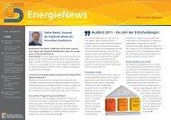 EnergieNews - Städtische Werke AG