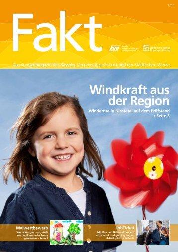 Fakt 01/2011 - Städtische Werke AG