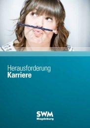 Herausforderung Karriere - Städtische Werke Magdeburg