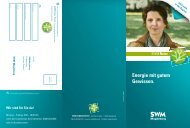 Broschüre SWM Natur Strom