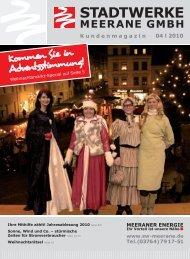 Kommen Sie in Adventsstimmung! - Stadtwerke Meerane GmbH