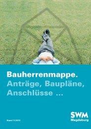 Bauherrenmappe - Städtische Werke Magdeburg