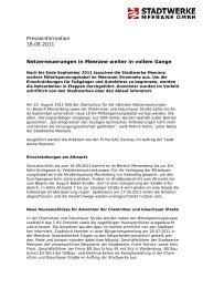 Netzerneuerungen in Meerane weiter in vollem Gange - Stadtwerke ...