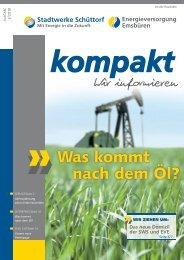 Was kommt nach dem Öl? - Stadtwerke Schüttorf