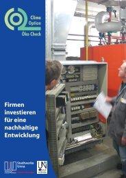 Öko Check 2006: Die Ergebnisse (2.8 MB) - Stadtwerke Unna