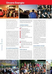 Unsere Energie: - Stadtwerke Unna