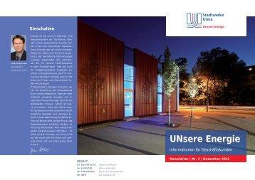 """unsere Energie"""" 02/2012 (2.9 MB) - Stadtwerke Unna"""