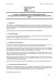 MRV Anlage 2.1 Technische ... - Stadtwerke Unna
