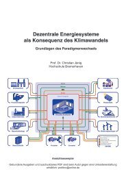 Dezentrale Energiesysteme als Konsequenz des ... - Stadtwerke Unna