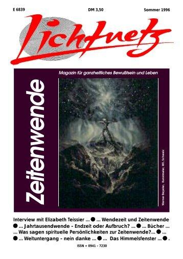 Interview mit Elizabeth Teissier ... ... Wendezeit ... - esoterik-esoterik.de