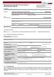 Netzanschlussvertrag Niederspannung - Stadtwerke Annaberg ...