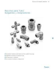 Racores para Tubo Galgables y Adaptadores (MS-01 ... - Swagelok