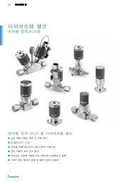다이어프램 밸브원자층 증착 ALD 용 (MS-02-301;rev_6;kr ... - Swagelok