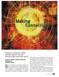 Making Connections: Advances in Automatic Orbital ... - Swagelok